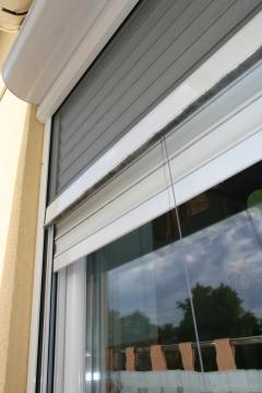 Insekten-Schutzrollo - Schutzspannrahmen aus Aluminium gegen Insekten